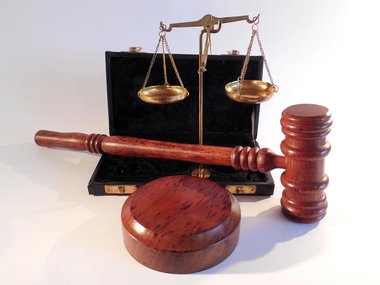 Justizia, Hammer, Waage